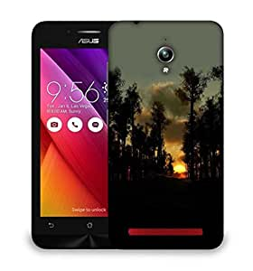 Snoogg Sunset In Forest Designer Protective Phone Back Case Cover For Asus Zenfone GO