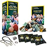 National Geographic Rough Gemstone Refill Kit for Rock Tumbler by
