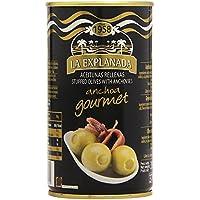 Aceitunas rellenas de anchoa 150 g. La Explanada Gourmet [PACK DE 15 UNIDADES]