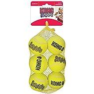 KONG Squeak Air Balls, Medium, Pack of 6