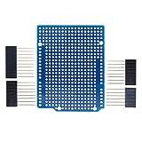 Espansione prototipo PCB per Arduino ATMEGA328P ONU R3Shield fr-4Fiber PCB breadboard 2mm 2.54mm distanza con perni DIY
