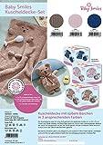 Sonder-Edition 2017! Strick-Set für Baby Smiles Kuscheldecke - Farbe: 1052 - jeans