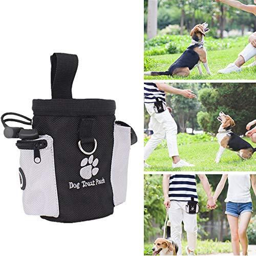 EliaSan Snack Bag Food Treat Aufbewahrungsbehälter Trainingsbeutel Haustier Hund Katze Vogel Welpe