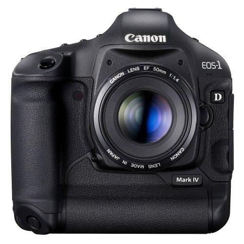 Canon EOS 1D Mark IV SLR-Digitalkamera (16 Megapixel, 7,6 cm (3 Zoll) LCD-Display, LiveView, Full-HD-Movie) Gehäuse ...