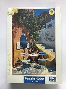 Puzzle Play Now 1000 pièces - Santorini, Greece - 44x68 cm