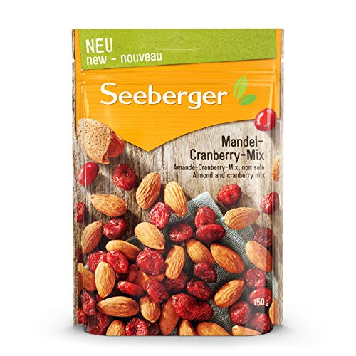 Seeberger Mandel-Cranberry-Mix, 12er Pack (12 x 150 g)