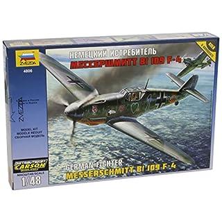 Zvezda 500784806–1: 48WWII Messerschmitt Bf 109°F4