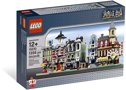 LEGO VIP 10230 Set mit Miniatur-Modulen, Miniversionen der ersten 5Modulbausätze (Café, Markt, - Lego Cafe Corner