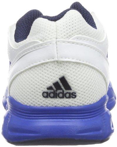 adidas Performance Hyperfast K-5, Scarpe da corsa Unisex Bianco (Running White FTW/Blue Beauty F10/Metallic Silver)
