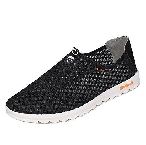 Gaorui ,  Herren Sneaker Low-Tops Schwarz