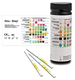 100 Urine Infection Test Strips Cystitis Testing Kits, UTI, Female and Male Dipstick
