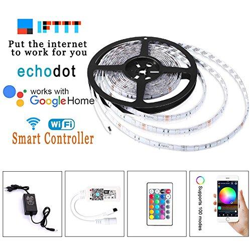 Tira LED audiorítmica RGB SMD 5050 de Simfonio