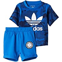 adidas I TKO Set Chándal, Niños, Azul (Azul / Azuosc / Blanco), 104