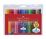 Best Faber Castell enfants Marqueurs - Faber-Castell 155320 Feutre GRIP Colour étui de 20 Review
