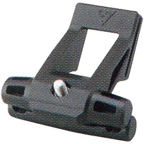 Topeak - Elemento di fissaggio per borse da sellino, taglia unica, nero