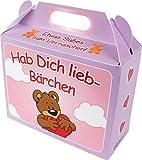 BärenBande Süßer Koffer Hab Dich lieb mit 75g Gummibärchen