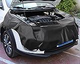 Rupse Automobile Couverture Magnétique étanche avec Crochets Mécanicien Tapis de Protection Aile Fender de Voiture Lot de 3pcs