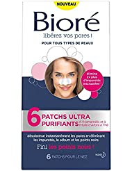 BIORÉ Pack de 6 Patchs Ultra Purifiants - Lot de 2