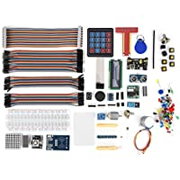 fosa Kit de iniciación RFID para Raspberry Pi 3, 2 Modelo B/B, Kit de desarrollo con 40 pines GPIO, junta, otros Raspberry Pi principiante aprender Accesorios Necesarios y gran protectora de Solución