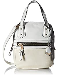 Gussaci Italy Women's Handbag (White) (GUS212)