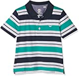 Timberland Baby-Jungen Poloshirt Polo Manches Courtes, Vert (Chlorophyll), 98
