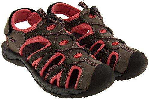 Northwest Territory Damen Wandern und Trekking-Schuhe Pink OLD2mO