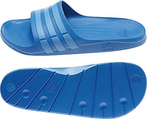adidas Duramo Slide Unisex-Erwachsene Dusch & Badeschuhe Blau