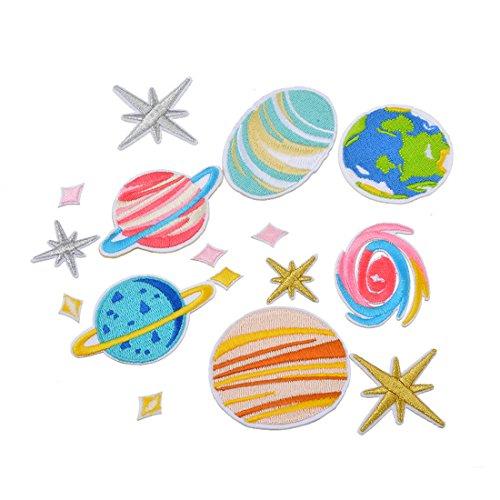 laamei Patch Sticker, 16 Pcs Parches Ropa Termoadhesivos Infantiles DIY Parche de...