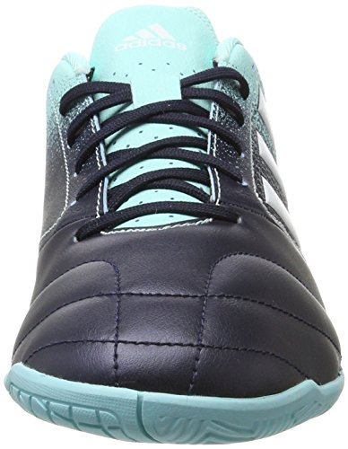 adidas Herren Ace 17.4 in S77100 Futsalschuhe Blau (Energy Aqua/Footwear White/Legend Ink)