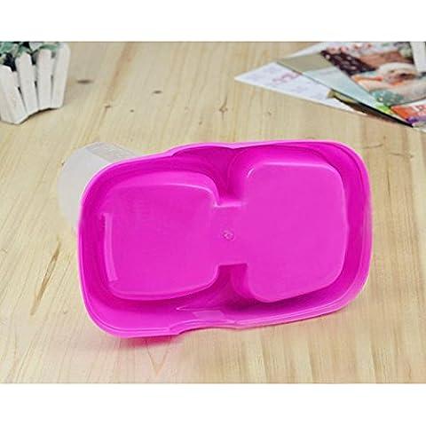 Frixie (TM) automatico domestico del cane di alimentatore di plastica Fontana di acqua Cibi Dispenser 24 * 16 * 24 centimetri