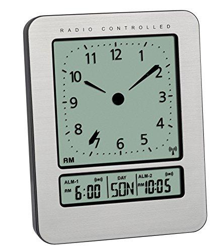 TFA Dostmann - Radio Reloj Despertador Digital Pantalla