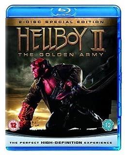 Hellboy 2: The Golden Army [Blu-ray] [2008] [Region Free] (B001G136LC) | Amazon price tracker / tracking, Amazon price history charts, Amazon price watches, Amazon price drop alerts
