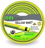 Nextep Yellow Smt - Ø 1/2' (12,5 Mm) - 20 Mt - Tubo Da Giardino Di Alta Qualità Per Irrigazione - Non Si Torce - Non Si Piega