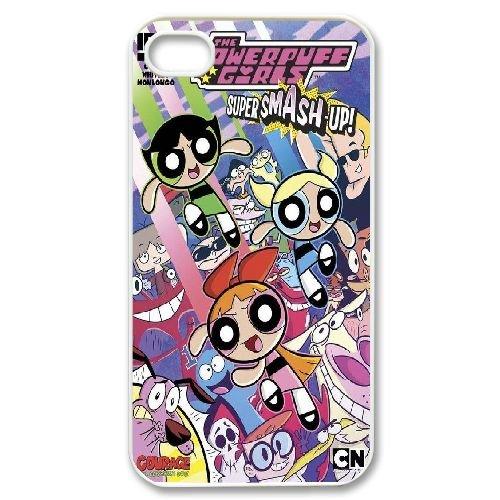Custom iPhone 4,4S Case, Personalized iPhone 4,4S Cover - The Powerpuff Girls (Powerpuff Diy Girls)