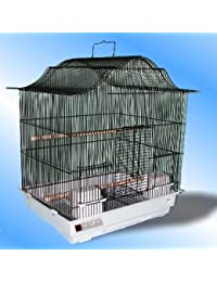 Jaula de Pájaros negro tazmin periquito Islas Canarias Parrotlets pájaros