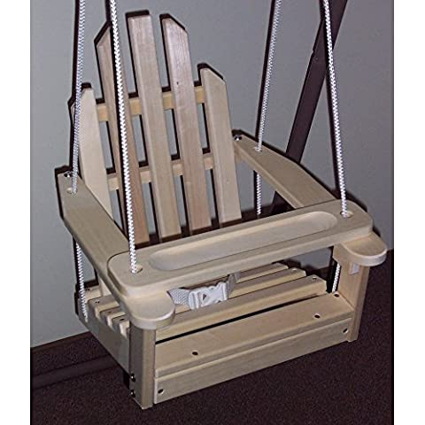 Prairie Leisure Kiddie Adirondack Chair Swing by Redwood Industries