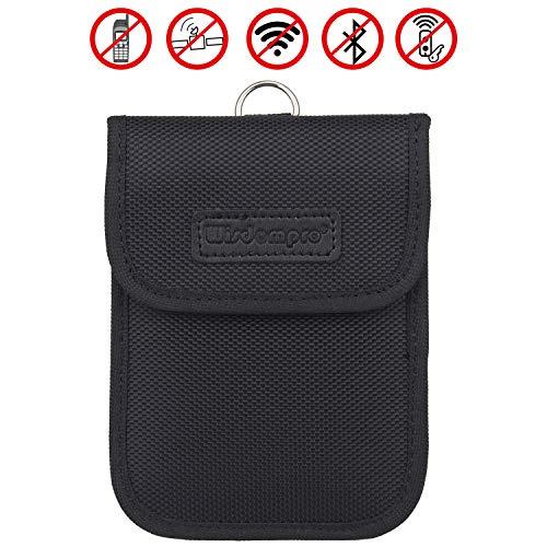 Wisdompro RFID - Protezione per chiave elettronica, custodia protettiva per chiave elettronica per automobile