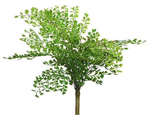 Farn Busch unecht Dekobusch grün Blumendeko Blumengestecke Frauenhaarfarn Kunstpflanze Farnbusch Dekopflanze
