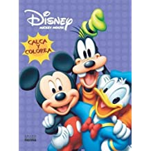 Mickey Mouse Calca y Colorea