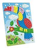 folia 23802 - Moosgummi Mosaikbild Kakadu, 405 teile