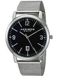 Akribos XXIV Reloj de cuarzo  Plateado 42 mm