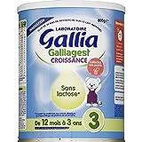 Gallia Lait bébé croissance sans lactose - La boite de 800g