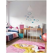 Bella Durmiente por Walt Disney Alfombra para habitación infantil, rosa, 67 x 110 cm