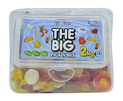 PIMLICO THE BIG PICK N MIX JELLIES 2KG