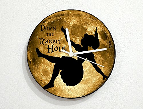 Alice In Wonderland - Down the Rabbit Hole - Yellow