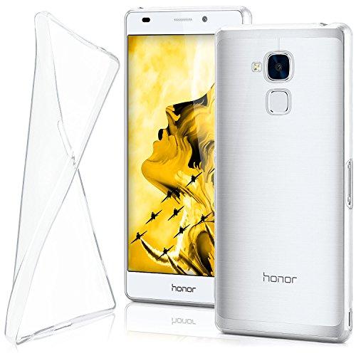 moex Huawei Honor 5C | Hülle Silikon Transparent Klar Clear Back-Cover TPU Schutzhülle Dünn Handyhülle für Honor 5C / Honor 7 Lite/Huawei GT3 Case Ultra-Slim Silikonhülle Rückseite