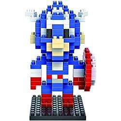 iBlock Fun Bloques construcción miniatura LOZ - Capitan America