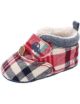 Baby Stiefel,Traumzimmer Der SüßE Junge MäDchen Baby Weiche Sohle Stiefeln Krippe Kleinkind Stiefel, Lace Up -...