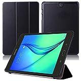 Smart Cover für Samsung Galaxy Tab A SM-T550 T551 T555 9.7 Zoll Case Stand Slim Flip (Schwarz) NEU