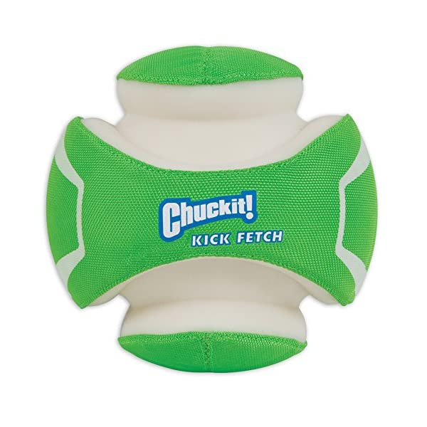Chuckit! CI Kick Fetch Max Glow Dog Toy, 14 cm, Small 1